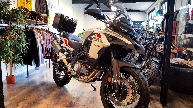 new trk X benelli 502